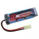 Tenergy 8.4V 1600mAh Flat NiMH Airsoft Battery Pack