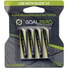 Goal Zero AAA Rechargeable Batteries (4 Pack) with Adapter 11407