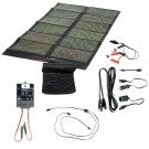 Global Solar SUNLINQ 7 62 Watt (P3-62) Black Solar Panel Kit