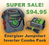 Energizer Jumpstart Inverter Combo Pack Sale
